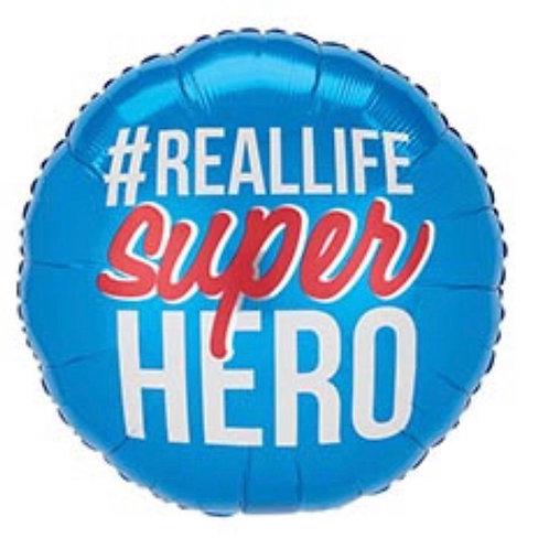 Real life Superhero Foil Balloon