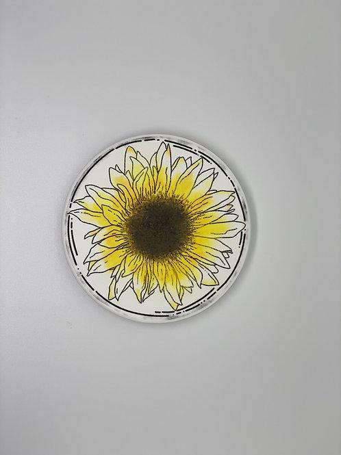 Sunflower Coaster Set of 2