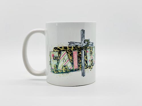Faith Cross Ceramic Mug