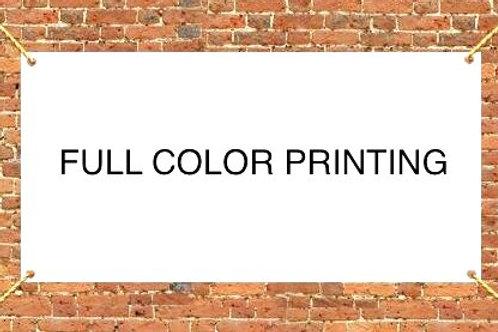 Full Color Banner