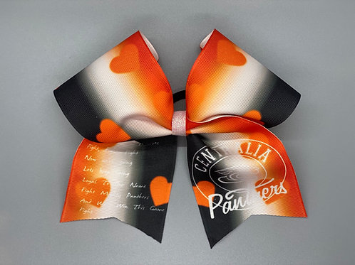 Centralia Fight Song Cheer Bow
