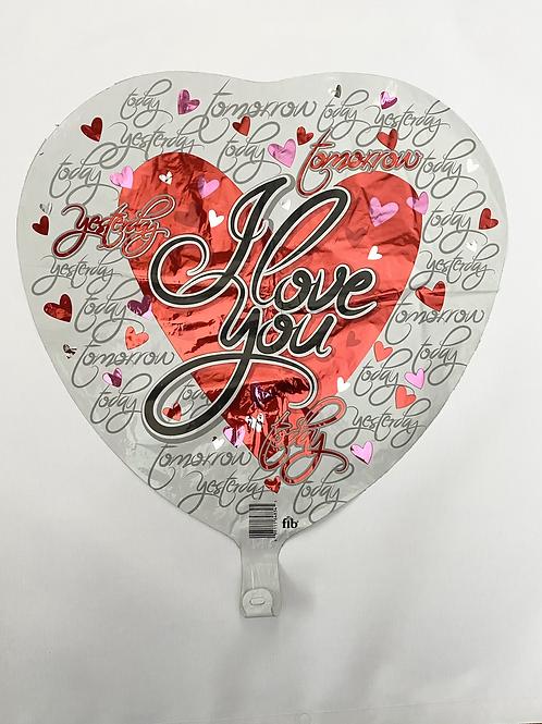 Today Tomorrow Yesterday Foil Balloon
