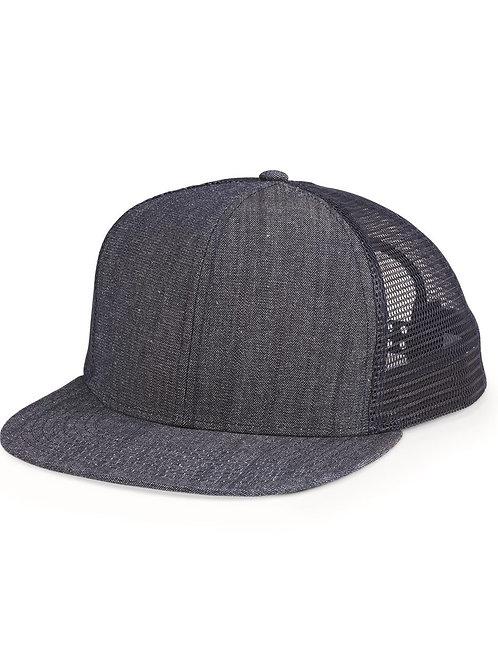 Flat Bill Trucker Cap