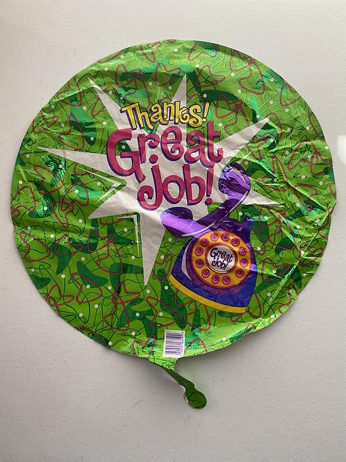 Great Job Secretary Foil Balloon