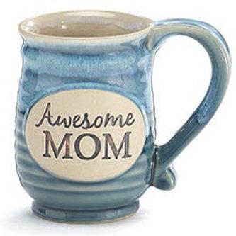 Awesome Mom Porcelain Mug