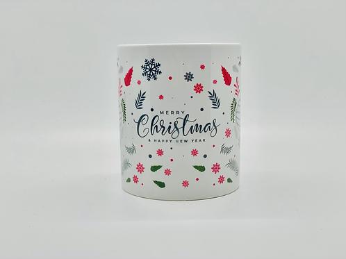 Merry Christmas Ornaments Ceramic Mug