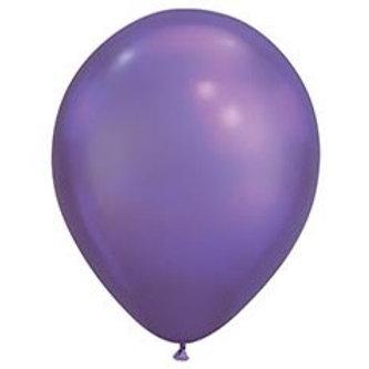 Chrome Purple Latex Balloon