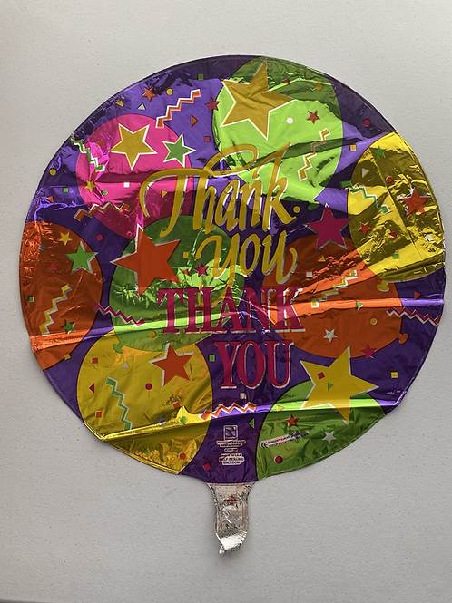 Thank You Balloons Foil Balloon