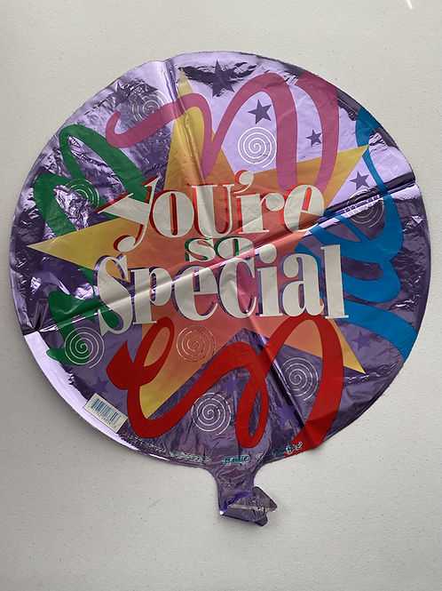 You're Special Streamer Foil Balloon