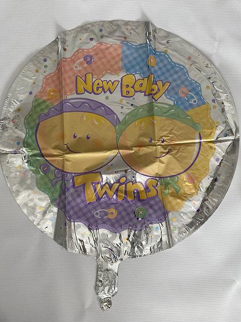 Twins Foil Helium Balloon
