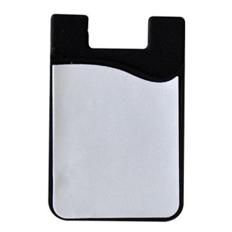 Mobile Phone Silicone Card Holder
