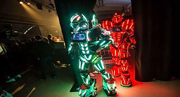 We Arrange LED Robots Huren