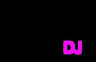 logo loungedj.nl logo boven (zwart magen