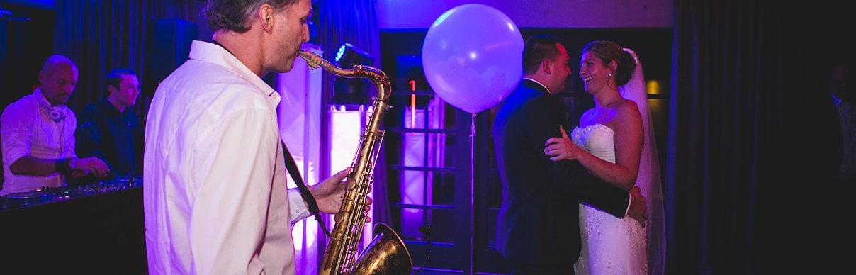 DJ en Saxofonist boeken, DJ en Sax huren