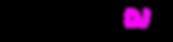logo loungedj.nl logo links (zwart magen