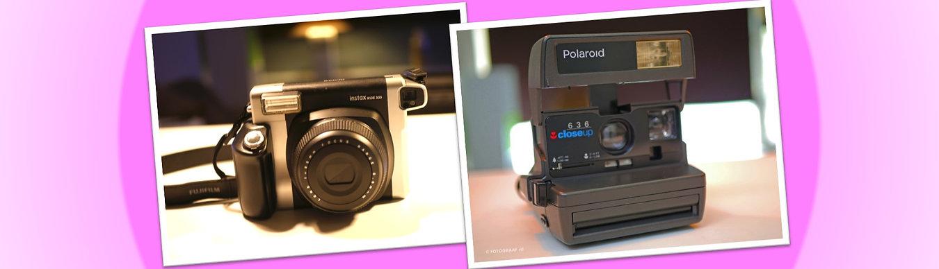 Polaroid Fotograaf Huren voor Feest en Event | We Arrange