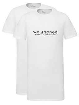 We Arrange T-Shirt 2-pack (wit)