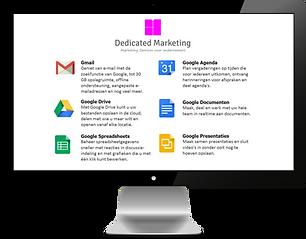 Website Extra's   Google G-Suite Account