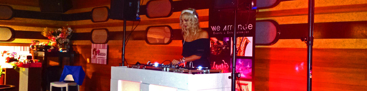 Female DJ boeken, Female DJ huren