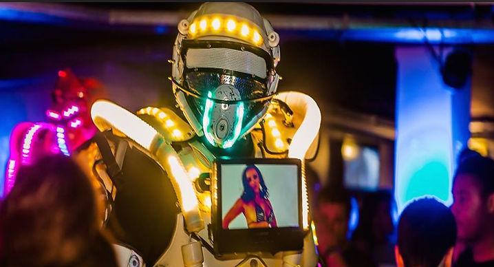 Led Robots huren, Robot Act boeken