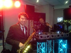 Lounge DJ en Saxofonist