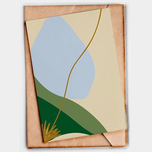 Gift Card Azul a cor do céu