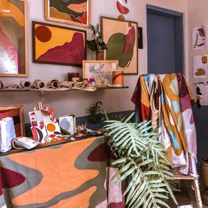 Dentro do atelier Urihi !