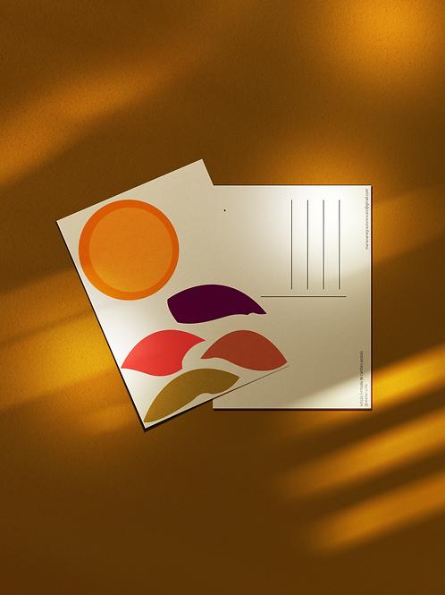 Cartão Postal Montanha Irregular