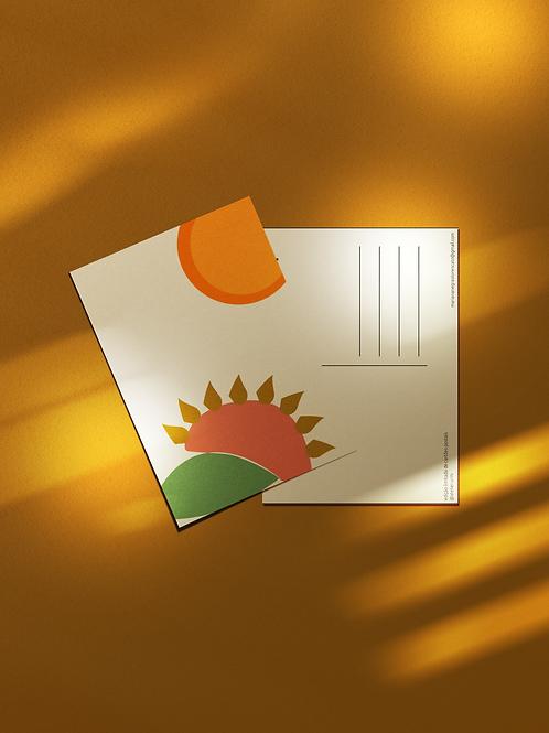 Cartão Postal Sol Nascente
