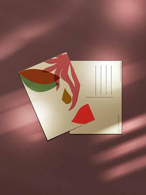 Cartão Postal Mulher