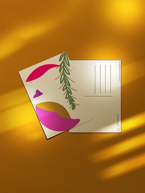 Cartão Postal Rosto Samambaia
