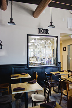 Whistling Duck Tavern interior design