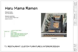 Haru.Mama.Ramen-SHEETS A-1, A-2 Furniture& DesignsSanwood.Plan.Set.24x36_