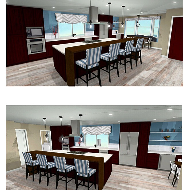 3D Conceptual Kitchen Design