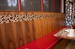 Love Boat Sushi Custom Design Banquettes