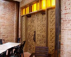 Herringbone Doors