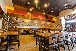 Love Boat Sushi Custom Designed Interior