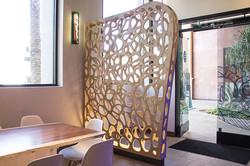 Blue Smoke Sushi Lounge Custom Woodwork by Sanwood