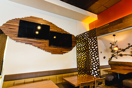 Love Boat Sushi Custom Design wall