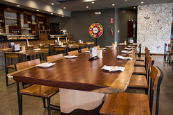 Love Boat Sushi Custom Designed furniture and woodwork