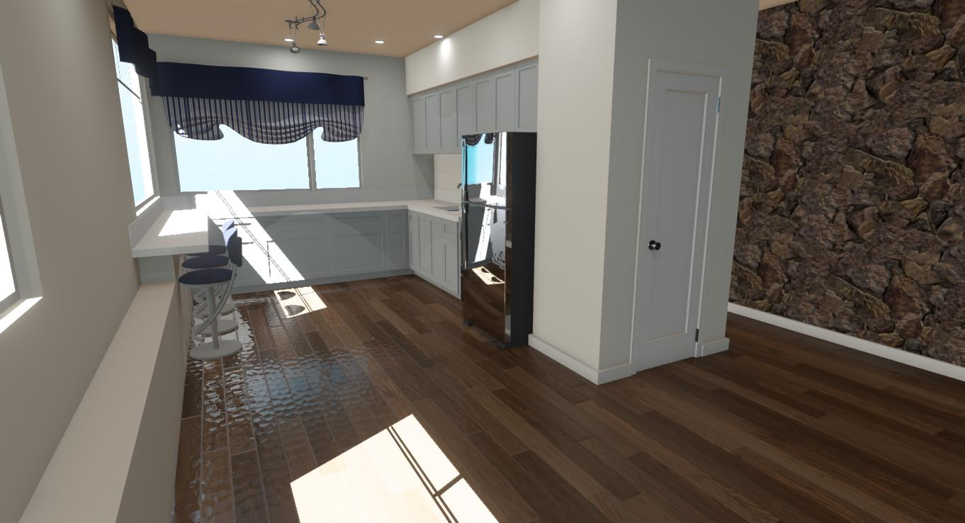 Hawaii Kitchen Remodel Prelim Render