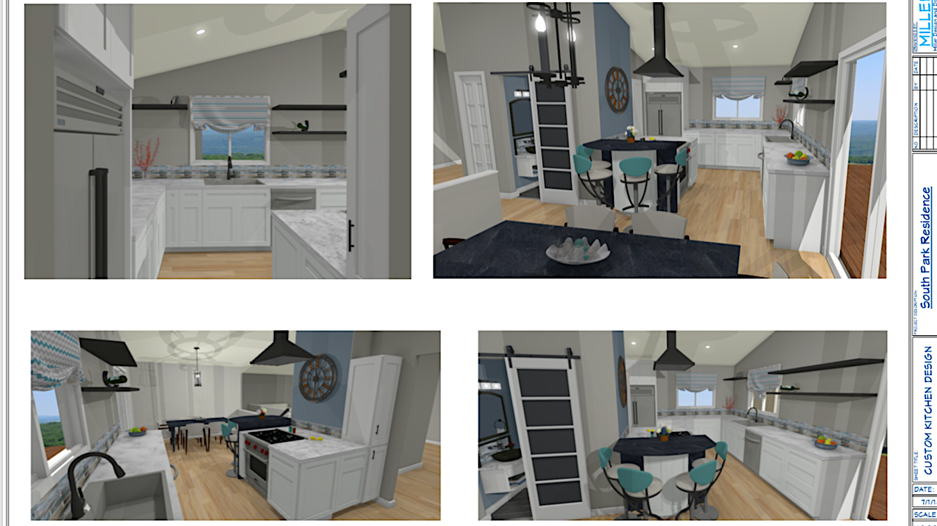 Conceptual Design 3D views
