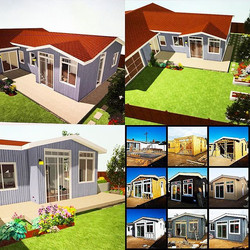 3D views before and after building _3D perspectives and readings provide the conceptual views you ne