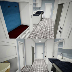 Laundry Room Custom Design