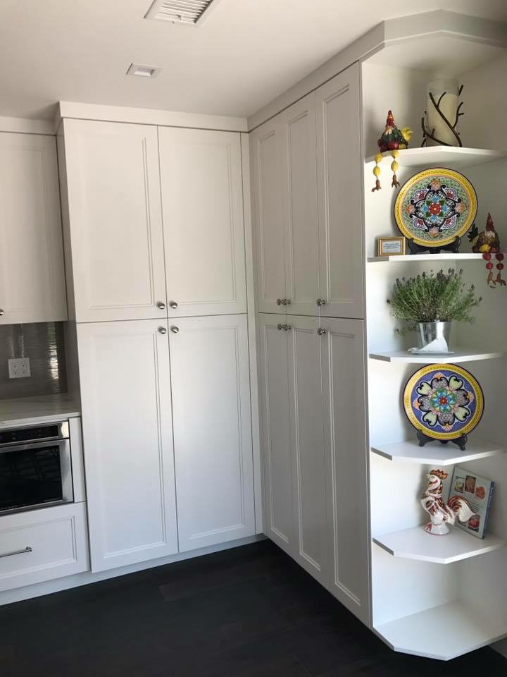 Kitchen custom built ins
