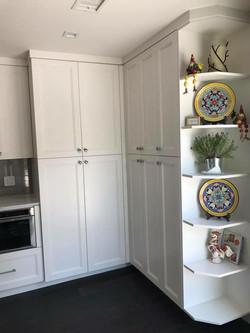 Kitchen custom built ins