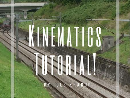 Kinematics Tutorial