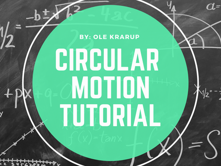 Circular motion tutorial