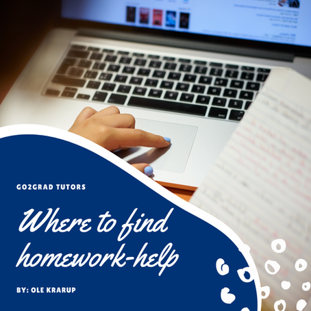 Where To Ask For Homework-Help?