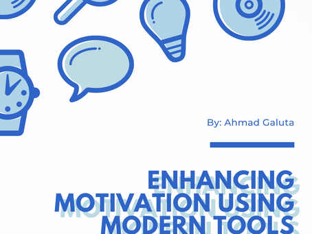 Enhancing Motivation For Learning Using Modern Tools